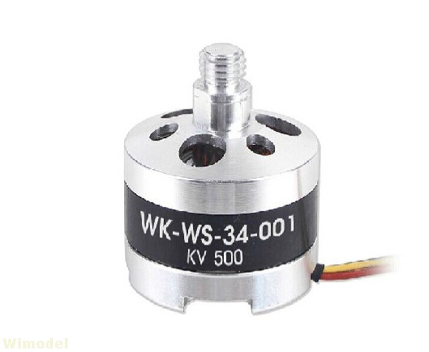 F09083 TALI H500-Z-12 Brushless Motor Dextrogyrate Thread WK-WS-34-001 for Walkera TALI H500 RC Quadcopter walkera spare part scout x4 z 12 brushless motor dextrogyrate thread wk ws 34 002 scout x4 parts freetrack shipping