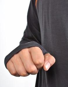 Image 5 - Camisa de manga larga para 100% de lana Agujeros de pulgar