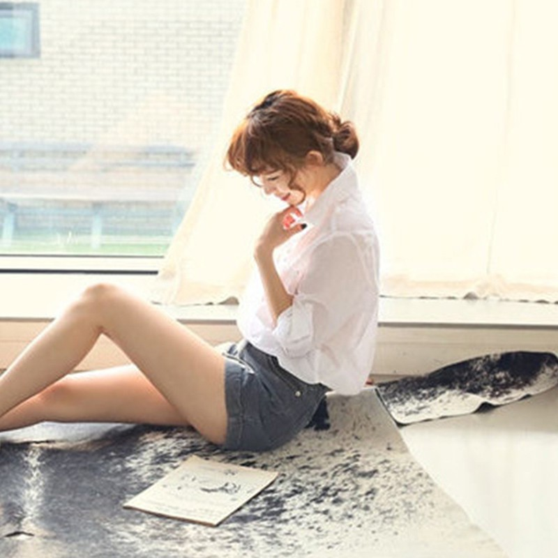 Casual Verano Femeninas Camisa Blanca Coreano Tops V Estilo Algodón De Mujer Blusa Moda White En Lino Blusas Cuello ZqR8xdwZ6