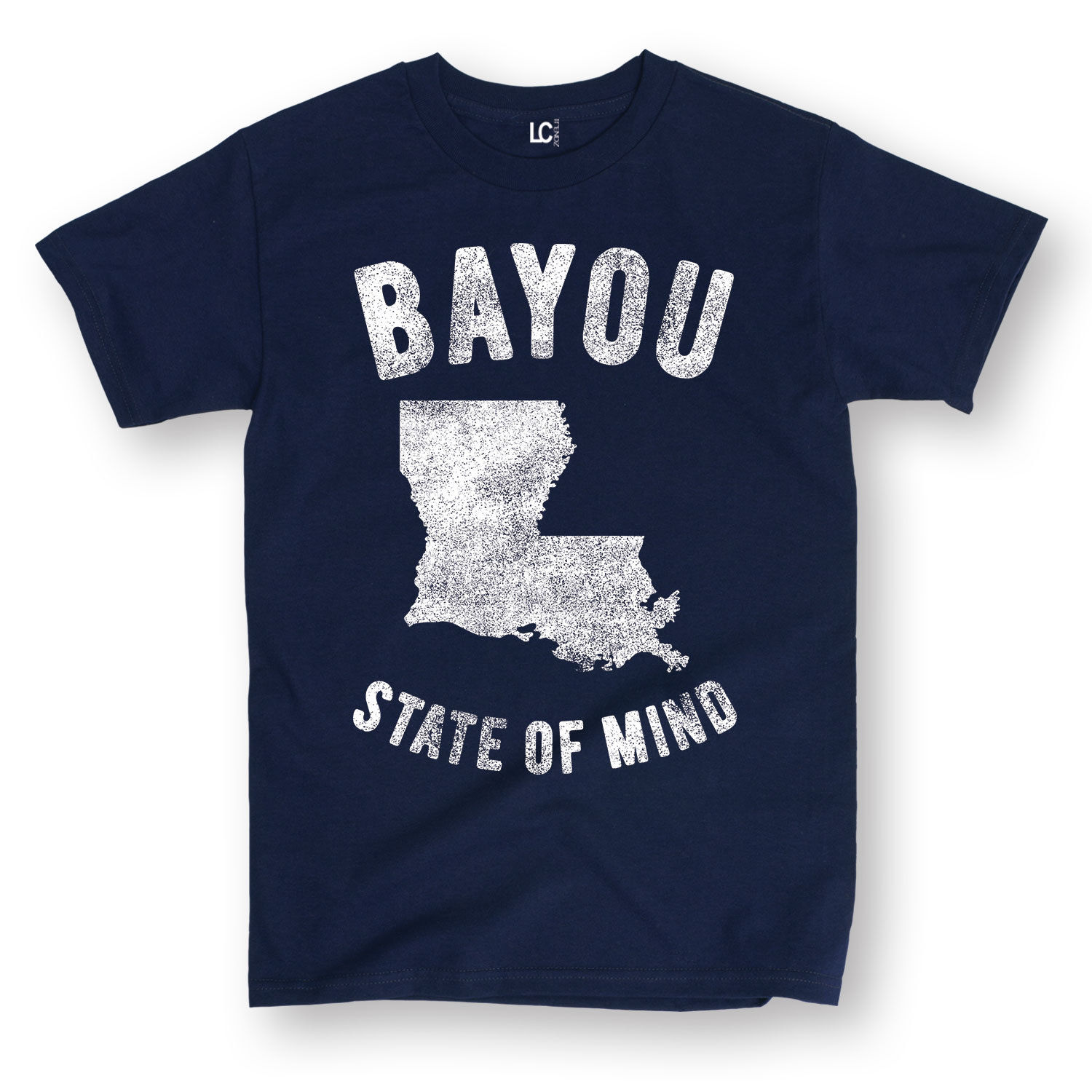 Hot 2019 Men'S Fashion Print T-Shirt Summer Style Bayou State of Mind Lousiana La New Orleans Creole Cajun Sporter T Shirts image