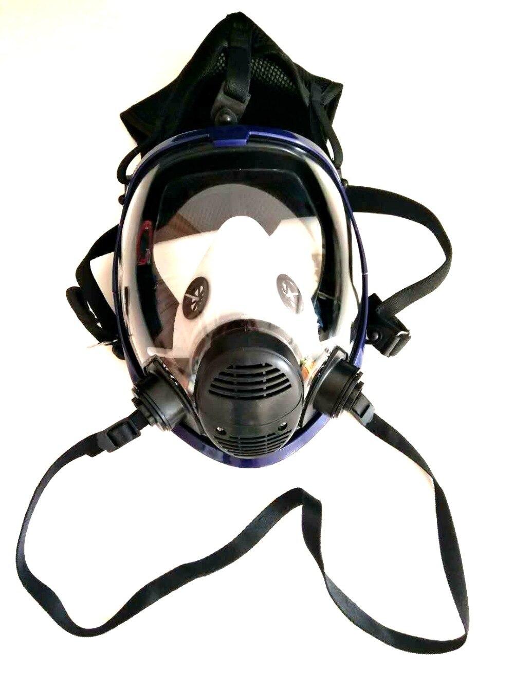 3 в 1 6800 функция поставляемая воздухом индустрия респиратор система полное лицо противогаз Респиратор маска от пыли - 2