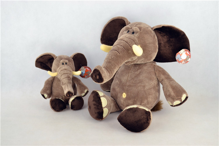 stuffed anima 25 cm elephant plush toy soft doll b9905