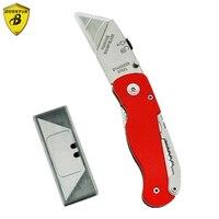 Highgrade Folding Blade Knife Practical Functional Art Wallpaper Cutting Paper Foldable Utility Pocket Knife Cutter Tool
