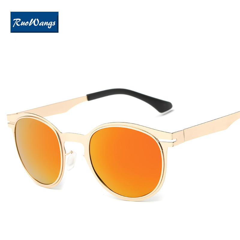 Vintage blau Marke Berühmte Sonnenbrille schwarzes Retro Frau Brille Polarisierte gold Blue Frame Frauen Oculos XwP4qtC
