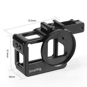 Image 5 - سمولتلاعب نموذج المناسب قفص ل GoPro بطل 7/6/5 كاميرا قفص مع حذاء بارد + 52 مللي متر تصفية جبل + دعم معالج الصوت 2320