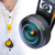 Apexel profesional Lente Super Gran Angular de Lente de La Cámara Del Teléfono celular 238 grados Ampliación Del Zoom para iPhone/Samsung/Smartphones