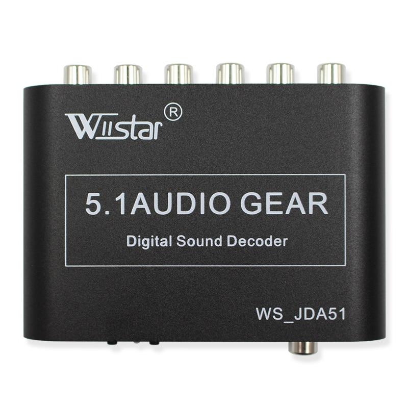 Wiistar 5.1 helidekoodri SPDIF koaksiaalne RCA DTS AC3 digitaalse - Turvalisus ja kaitse - Foto 5