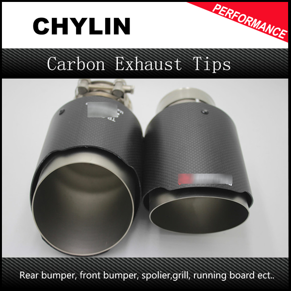 2PCS Carbon Fiber Universal Car Exhaust Pipe Tip Tailtip 89mm / 63mm Akrapovic Car Exhaust for BMW Audi Volkswagen Mercedes2PCS Carbon Fiber Universal Car Exhaust Pipe Tip Tailtip 89mm / 63mm Akrapovic Car Exhaust for BMW Audi Volkswagen Mercedes
