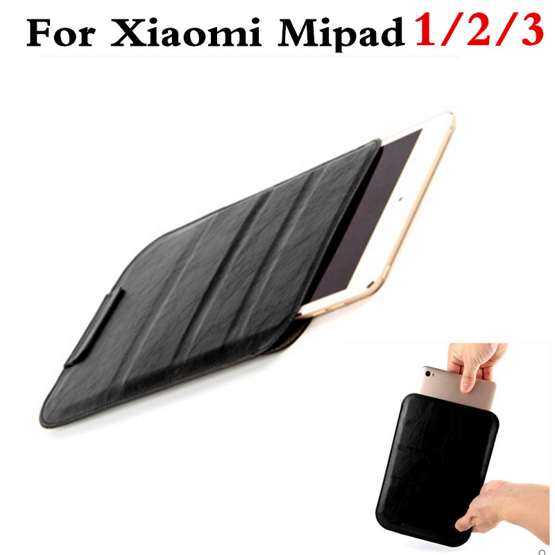 Luxury PU Leather Case Cover For Xiaomi Mi Pad 1 2 3 miPad 2 7.9 tablet PC SLeeve Pouch Bag Cases For Xiaomi MiPad 3 Stand Case