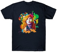 Gildan Broadcloth Blondie T Pop Art Music Retro Vintage Birthday Rock 1970 S 1980 S 1990