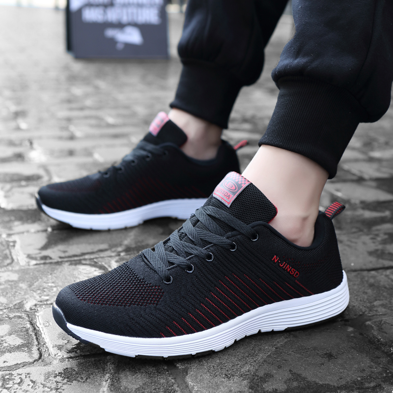 CYYTL Men 39 s Shoes 2019 Mesh Lightweight Outdoor Sneakers Male Casual Trainers Breathable Lace up Man Footwear Tenis Masculino in Men 39 s Casual Shoes from Shoes