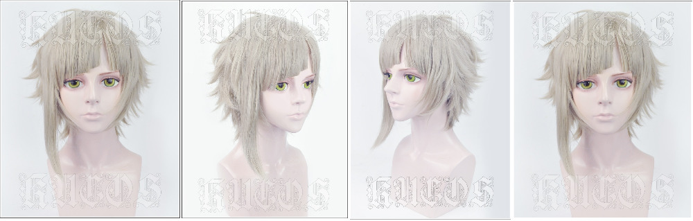 Bungo Stray Dogs Nakajima Atsushi Cosplay Wig Anime Cosplay Wig HOT