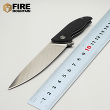 BMT Wild Boar 95 Tactical Folding Knife With 440 Blade G10 Ball Bearing Flipper Outdoor Camping Survival Pocket Knife Tools