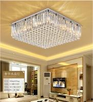 ZYY Modern Luxury K9 Crystal Chandelier LED Lighting LivingRoom Restaurant Crystal Ceiling Lamp E14 Indoor Lighting