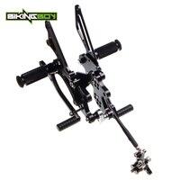 BIKINGBOY 1 компл. Регулируемый Rearsets задние наборы Подножки для HONDA CBR 1000 RR Fireblade 2004 2005 2006 2007 04 07