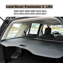 Tronco Posterior del coche de Seguridad Cargo Cover Escudo Para Land Rover Freelander 2 LR2 2006-2017 BANDEJA trasera MANTENER FUERA PANTALLA RETRÁCTIL