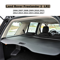 Car Rear Trunk Security Shield Cargo Cover For Land Rover Freelander 2 LR2 2006 2017 PARCEL SHELF KEEP OUT SCREEN RETRACTABLE