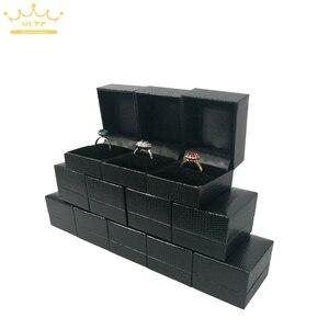 Jewelry Box 12pcs/lot Black Le