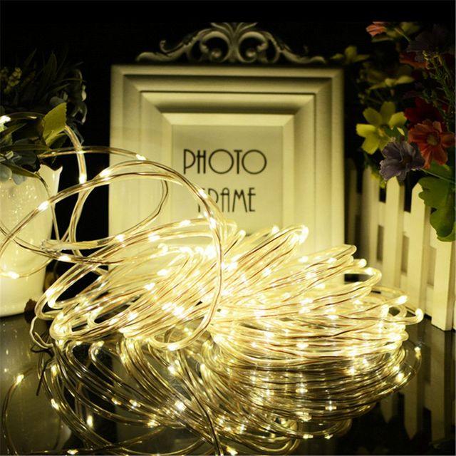 Weihnachtsfeier Dekoration.Us 11 02 6 Off 7 Mt 50 Solarbetriebene Led Streifen Licht Für Zimmer Garten Weihnachtsfeier Dekoration In 7 Mt 50 Solarbetriebene Led Streifen