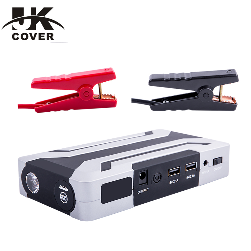 JKCOVER car jump starter device booster Peak emergency portable Power Bank car battery jump starter цена