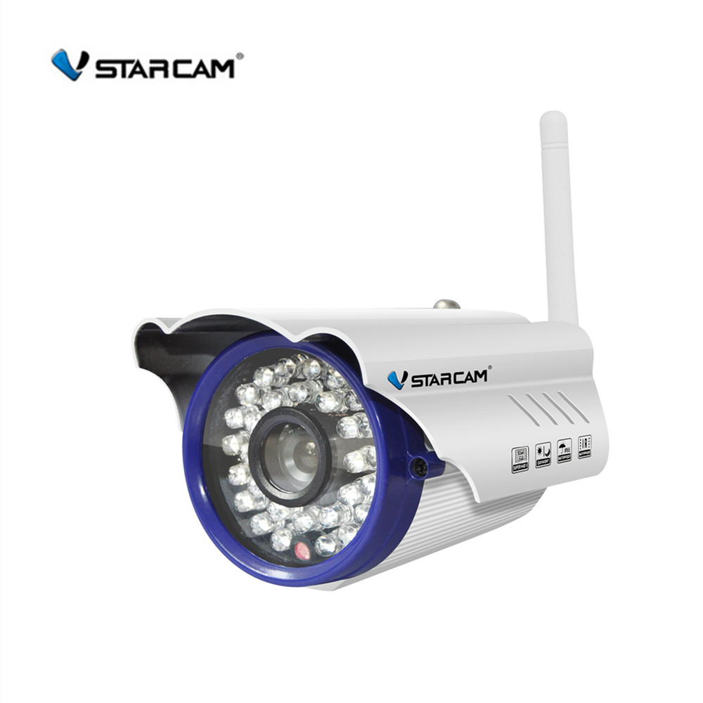все цены на Vstarcam C7815WIP WiFi IP Camera HD 720P Onvif Wireless Network Security Camera Waterproof IP66 Surveillance Bullet Camera онлайн