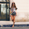 Boho Sexy Women Short Sleeve Party Cocktail Summer Beach Short Mini Dress