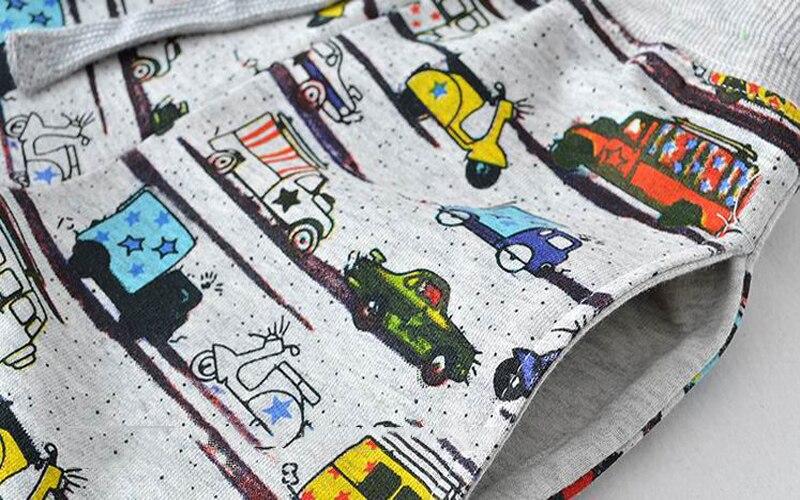 SAILEROAD 2-7Years Cartoon Car Pattern Boys Full Length Pants Spring Autumn Baby Kids Casual Pants Cotton Children Boy's Trouser 4