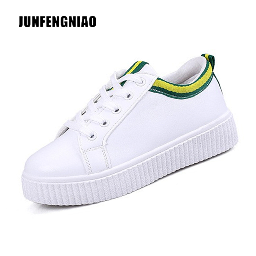 New Hot Fashion Women Shoes Flats White PU Rubber Round Toe Slip On Casual Korean Spring Autumn Suede Superstar KDL-303 xiaying smile woman flats women brogue shoes loafers spring summer casual slip on round toe rubber new black white women shoes