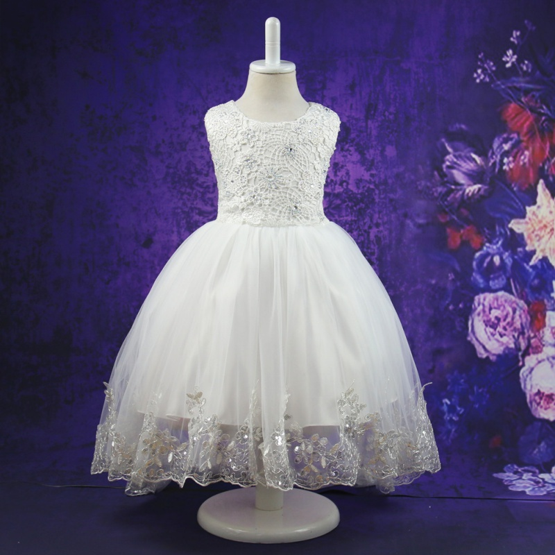 Big Bow Party Girl Dresses For Kids Ceremonies Wedding Birthday Teenagers Prom Gowns Flower Lace Children Dress girls party wear tulle tutu dress kids elegant ceremonies wedding birthday dresses teenagers prom gowns flower girl dress