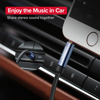 Ugreen Jack 3.5 Audio Cable 3.5mm Speaker Line Aux Cable for iPhone 6 Samsung galaxy s8 Car Headphone Xiaomi redmi 4x Audio Jack 1