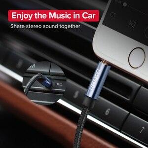 Image 2 - Ugreen Jack 3.5 câble Audio 3.5mm ligne de haut parleur câble Aux pour iPhone 6 Samsung galaxy s8 casque de voiture Xiaomi redmi 4x prise Audio