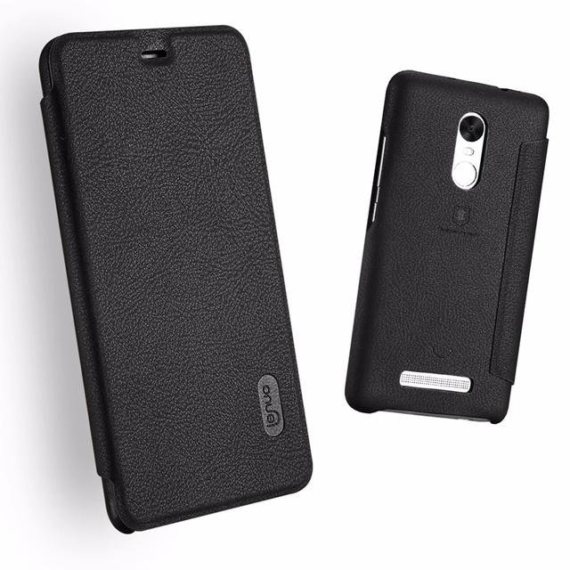 Novo portátil pu couro ultra-slim-card solt flip case tampa do telefone móvel para xiaomi para redmi note 3 pro especial edição
