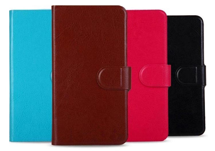 Wholesale PU Leather Wallet Flip Cover Case For font b Hisense b font U971 EG971 5