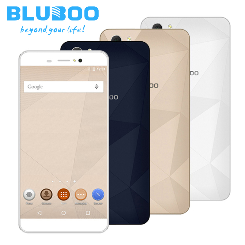 Original BLUBOO Picasso 4G LTE Smatphone MTK6735 Quad Core 16GB ROM 2GB RAM Mobile Celllphone 5