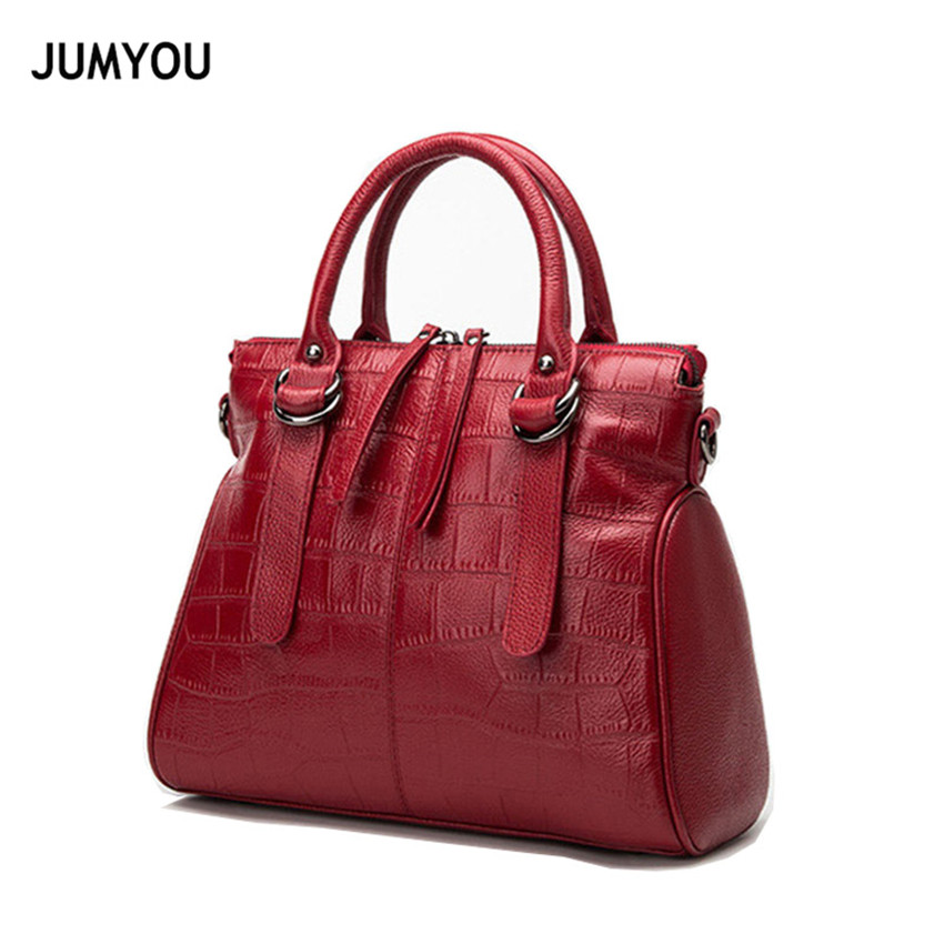 Real Leather Crossbody Bags For Women Messenger Bag For Female Smiple Fashion Solid Red Alligator Shoulder Bags Lady Bolso MujerReal Leather Crossbody Bags For Women Messenger Bag For Female Smiple Fashion Solid Red Alligator Shoulder Bags Lady Bolso Mujer