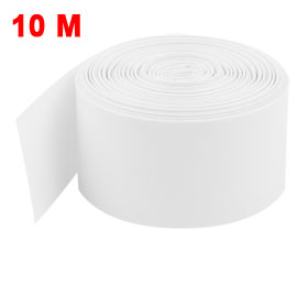 Uxcell 29.5mm PVC Heat Shrink Tubing Wrap 10M for 1 x 18650 Battery White Clear Light Purple Gray Light Green Green silicone jigsaw pattern cover creative notebook red white green purple