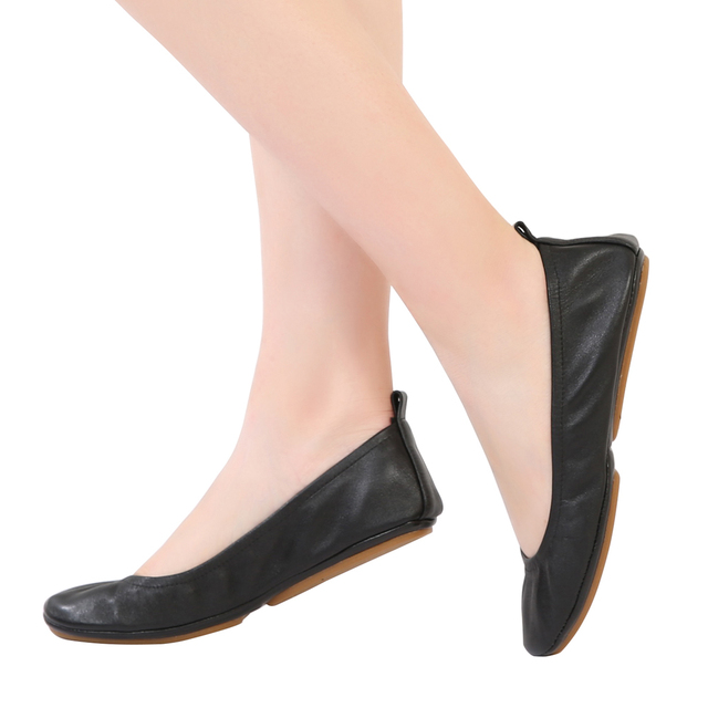 0f2c39d63a773 Ballerina Shoe Women Leather Ballet Flats Foldable and Portable Travel Flat  Pregnant Shoe for Wedding