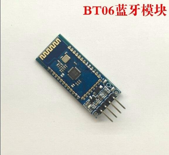 Бесплатная доставка BT-06 RF Беспроводной Bluetooth трансивер ведомого модуля RS232/ttl для UART конвертер и адаптер для arduino HC-06