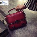 2017 fashion women message bags decoration high quality PU small flap to keep with versatile 4colors new  Vintage Hasp Handbag