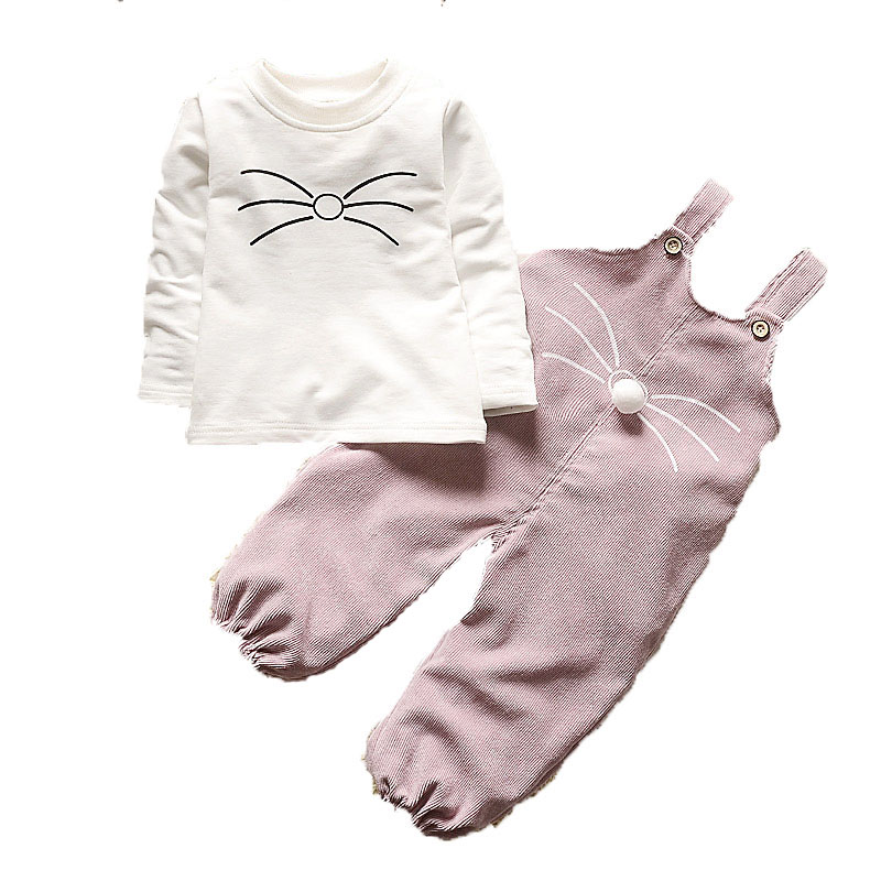 2019 New child Child Ladies Garments Units Trend Swimsuit T-shirt + Pants Swimsuit Child Ladies Exterior Put on Sports activities Swimsuit Spring Clothes Units Clothes Units, Low cost Clothes...