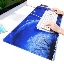 Синий звездный 120x60x0,2 см большой коврик для мыши с запирающимся краем Naturel резиновый игровой коврик для мыши Коврик для CS GO Dota2 мыши для геймера