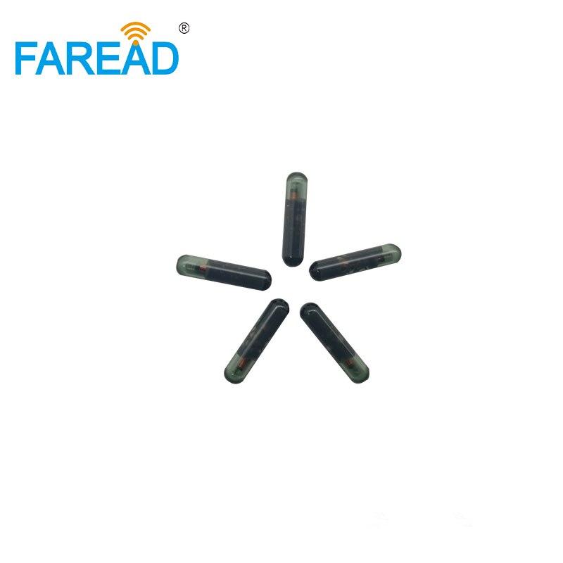 X10pcs 3*13mm 125KHZ  RFID Glass Transponder For Identification