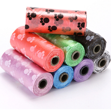 3 Rolls 45 pcs Pet garbage bags Pet Small dogs Printing Cats Dogs Pooper Bags Outdoor Home Cleaning pets pick up Garbage Bags