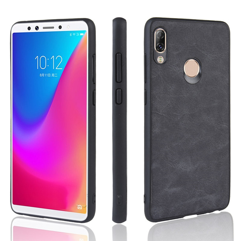 Lenovo S5 Pro Case Lenovo K5 Pro Luxury Vintage leather skin phone cover 1