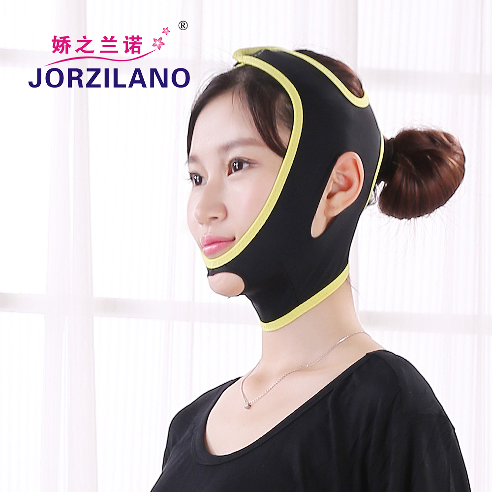 Black Strengthen type Face lift mask Thin Face Slim Mask Thin Masseter Double Chin Beauty Face Lift Bandage massage supports health care body massage beauty thin face mask the treatment of masseter double chin mask slimming bandage cosmetic mask korea