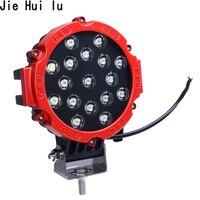High Quality 7 Inch Car Round LED Work Light 12V 24V Power 7 Floot Spot Light