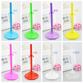 Free shipping,8pcs/lot clear For Barbie doll stands doll accessories Doll Display Holder
