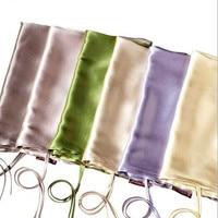 1Pcs 100 Pure Silk Pillowcase Envelope Silk Pillow Cover Silk Satin Throw Cushion Pillow Case Wedding