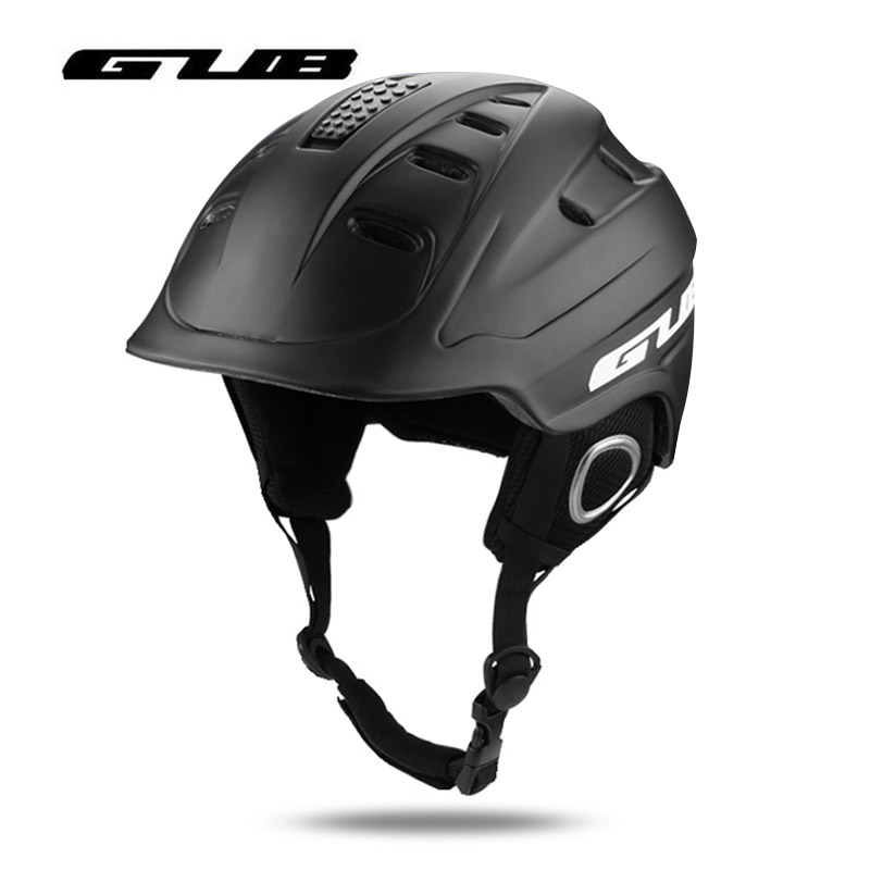 GUB Ski Helmet Integrally-molded Snowboard Skateboard Helmet Safety Men Women Thermal Ultralight Bicycle Bike Cycling Helmets цена