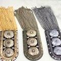 Epaulette/dragona/emblema do pino charreteras/atacado/kpop franjas de metal botões broche mulheres harajuku do punk do vintage acessórios